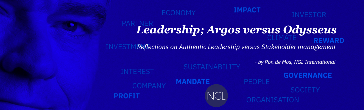 Ron de Mos - Authentic leadership and stakeholder management